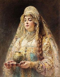 Charka of Honey by Konstantin Makovsky