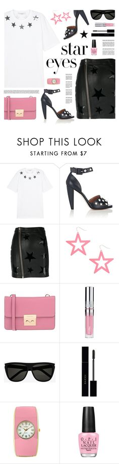 """""""Stars"""" by tamara-p ❤ liked on Polyvore featuring Givenchy, RED Valentino, Zoe Karssen, MICHAEL Michael Kors, PUR, Gucci, Peugeot, OPI, Tim Holtz and StarOutfits"""