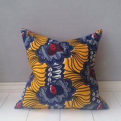 20 African Mixed Print Pillow Cover Scatter Pillow by JuneThirty
