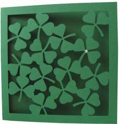 View Design: clovers card