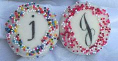 decorated oreos - possible wedding favor?
