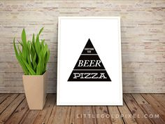Free PrintablesKitchen Wall Art Pizza and Beer Faux Food Pyramid Free Printable Little Gold Pixel Kitchen Wall Quotes, Kitchen Wall Art, Kitchen Decor, Diy Kitchen, Cactus Wall Art, Cactus Print, Free Poster Printables, Printable Wall Art, Diy Wall Art