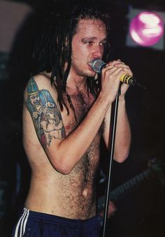 JD. His evil Bishop tattoo symbolizes the atrocities in religion