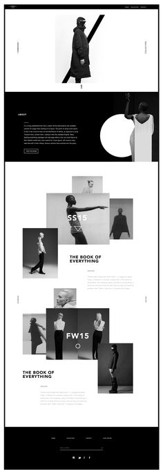love the black and white, and how framing is used  Aquawa on Behance