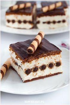 Sweet Recipes, Cake Recipes, Dessert Recipes, No Bake Desserts, Delicious Desserts, Good Food, Yummy Food, Polish Recipes, Holiday Recipes