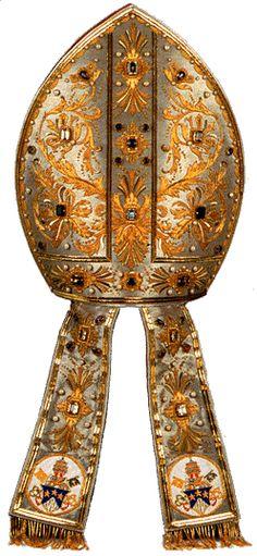 Precious Mitre of Pope John Paul I
