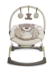 Mothercare Loved So Much Bouncer - green and brown to match my living room ;-)