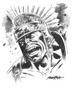 #Hulk #Fan #Art. (Planet Hulk) By: Steve Epting. ÅWESOMENESS!!!™ ÅÅÅ+