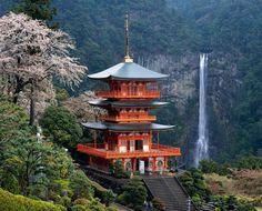 Mirando al mundo con sentimientos: Los santuarios de Kumano con la pagoda Seigantoji ...