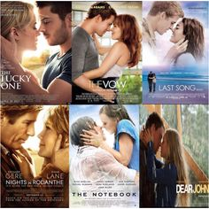 nicholas sparks movies need new ideas for poster art lol