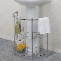 Pedestal Sink Storage  --- for mom's bathroom