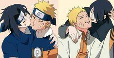 Naruto Vs Sasuke, Anime Naruto, Naruto And Sasuke Wallpaper, Naruto Comic, Naruto Cute, Naruto Uzumaki Shippuden, Sasunaru, Narusasu, Shikamaru