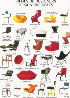 sillas de los 50
