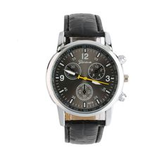 Luxury Cool Quartz Business Analog Round Dial And Leather Watch Band Cheap Casual Sports wristwatch Relogios Masculino