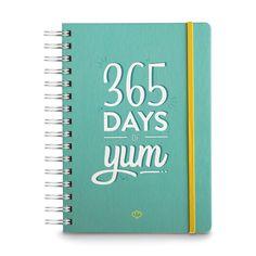 Jahresplaner 365 Days of Yum A5