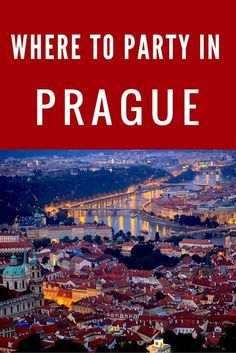Where to Party While in Prague. Click through for a list of fun bars and cool clubs to visit while in Prague.
