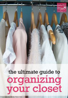 Organizing your closet doesn't have to be a dreaded chore. Spend time working through these 5 steps and you'll feel great about the clothes you own.