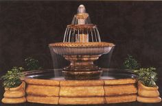 This beautiful patio waterfall is a great piece to any home.   Please visit us at http://www.waterfeaturesupply.com/waterwalls/outdoor-water-fountains.html to get even more information regarding this fountain.