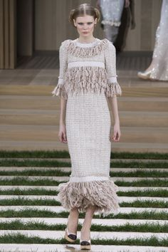 Chanel Spring 2016 Couture Fashion Show - Alexandra Elizabeth (Elite)