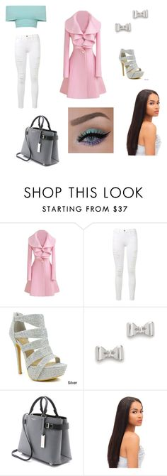 """""""Halle"""" by peacebean ❤ liked on Polyvore featuring Frame Denim, Celeste, Marc by Marc Jacobs and Michael Kors"""
