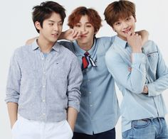 Ilhoon, Sungjae & Minhyuk (BTOB)