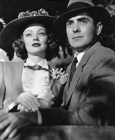Tyrone Power and Gene Tierney, The Razor's Edge