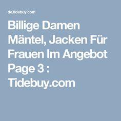 Billige Damen Mäntel, Jacken Für Frauen Im Angebot Page 3 : Tidebuy.com
