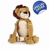 Goldbug Animal 2 in 1 Harness, Lion, Goldbug 2 in 1 Harness Buddy Lion. Fun Harness converts into a backpack. A fun and friendly way to keep your child close and safe. Just hold on to the animal buddy's tail and your child will be safely. Animal Backpacks, Cute Backpacks, Girl Backpacks, Baby Safety, Child Safety, Lion, Happy Baby, Baby Gear, Baby Items