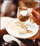 Espresso Granita with Whipped Cream