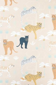 Black Panther, Creamy Orange – The Pattern Collective