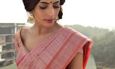 Buy Six-Yards of Perfection by Indian Artizans Handwoven bhagalpuri tussar and eri silk sarees for that understated charm Online at Jaypore.com