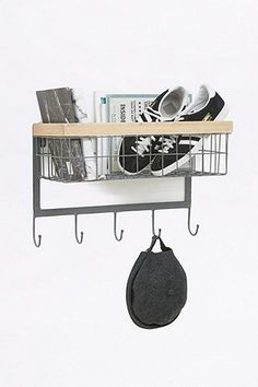 Basket Hook Wall Shelf - Urban Outfitters