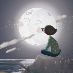 Today the Moon is Amazing ~  Gloria Fortmir ♡