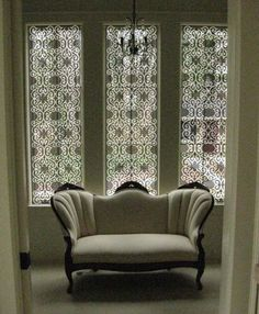 Patterned shades window treatment