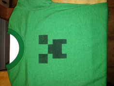 Minecraft shirt Minecraft Stuff, Minecraft Party, 9th Birthday, Birthday Ideas, Big Time, Party Stuff, Public School, Party Time, Kid Stuff
