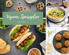 Mein veganer Speiseplan gratis für dich – Woche 4