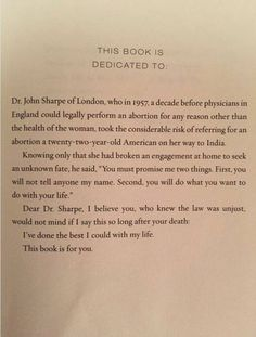 """aminatou: """"The dedication in Gloria Steinem's new book is incredibly moving """" Do What You Want, Believe In You, Ems, Book Dedication, Gloria Steinem, Thought Provoking, Deep Thoughts, New Books, This Book"""