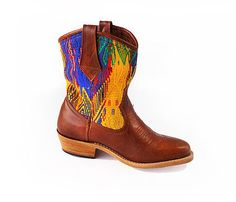 Guatemalan Boots - Handmade boots - San Juan Cowboy Boots - Give a chic update to your casual wardrobe with our San Juan cowboy boots .This wetern inspired boots can be paired with jeans or a cute dress for a effortssly chic look. Guatemalan women, artisan in Guatemala #guatemalanboots #handmadeboots #guatemala #customboots #handmade #boots #GuateBoots www.nawalboots.com
