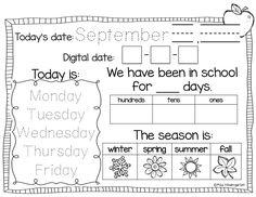 Calendar Time {using interactive calendar notebooks}