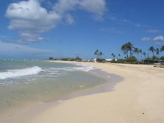 Nimitz Beach, Barbers Point, Oahu, Hawaii ....  we have a lot of Company functions here =)