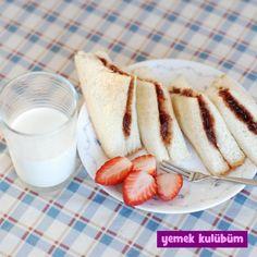 TARİF : Marmelatlı Ekmekler    #yemekkulubum #yemek #tarif #yemektarifleri #yemektarifi #ekmek #marmelat #ahududu #çilek #böğürtlen #kızılcık #kahvaltı #aperatif #breakfast #snack #appetizer