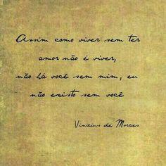 37 Melhores Imagens De Vinicius De Moraes Quotes Love Inspiring