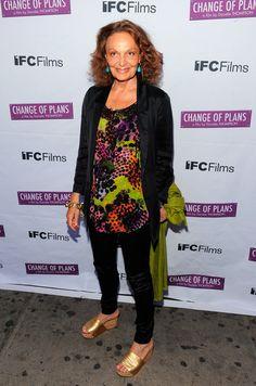"""Diane von Furstenberg Photo - """"Change Of Plans"""" New York Premiere"""