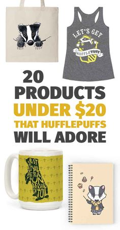 20 Products Under $20 That Are Made For Hufflepuffs