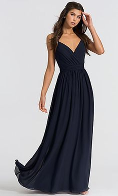 cd34a187df5 Bill Levkoff. See more. Chiffon Bari Jay Long Bridesmaid Dress 1606 Long  Bridesmaid Dresses