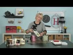 My Craft Channel: Create to Remember with Heidi Swapp - Book in a Box - YouTube