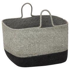 soft Basket Grey Charcoalhomemaker