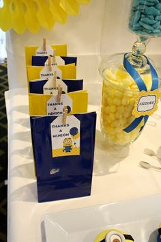 Minions - Despicable Me Birthday Party Ideas | Photo 4 of 9 | Catch My Party
