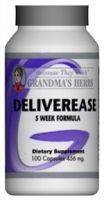 A must-have for pregnancy! For a better labor and delivery. I had a C-Section with my first baby, but I took this during my second pregnancy and was able to have a successful VBAC, and I have to give credit to this product! It really works! Deliverease - Grandma's Herbs
