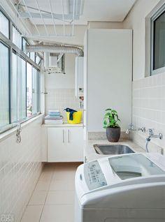 Apartamento de 72 m² ganha cozinha aberta, closet e banheira - Casa